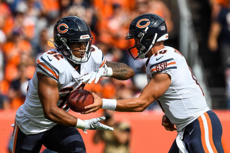 Bears' David Montgomery, Tarik Cohen's Fantasy Outlook After Week 2