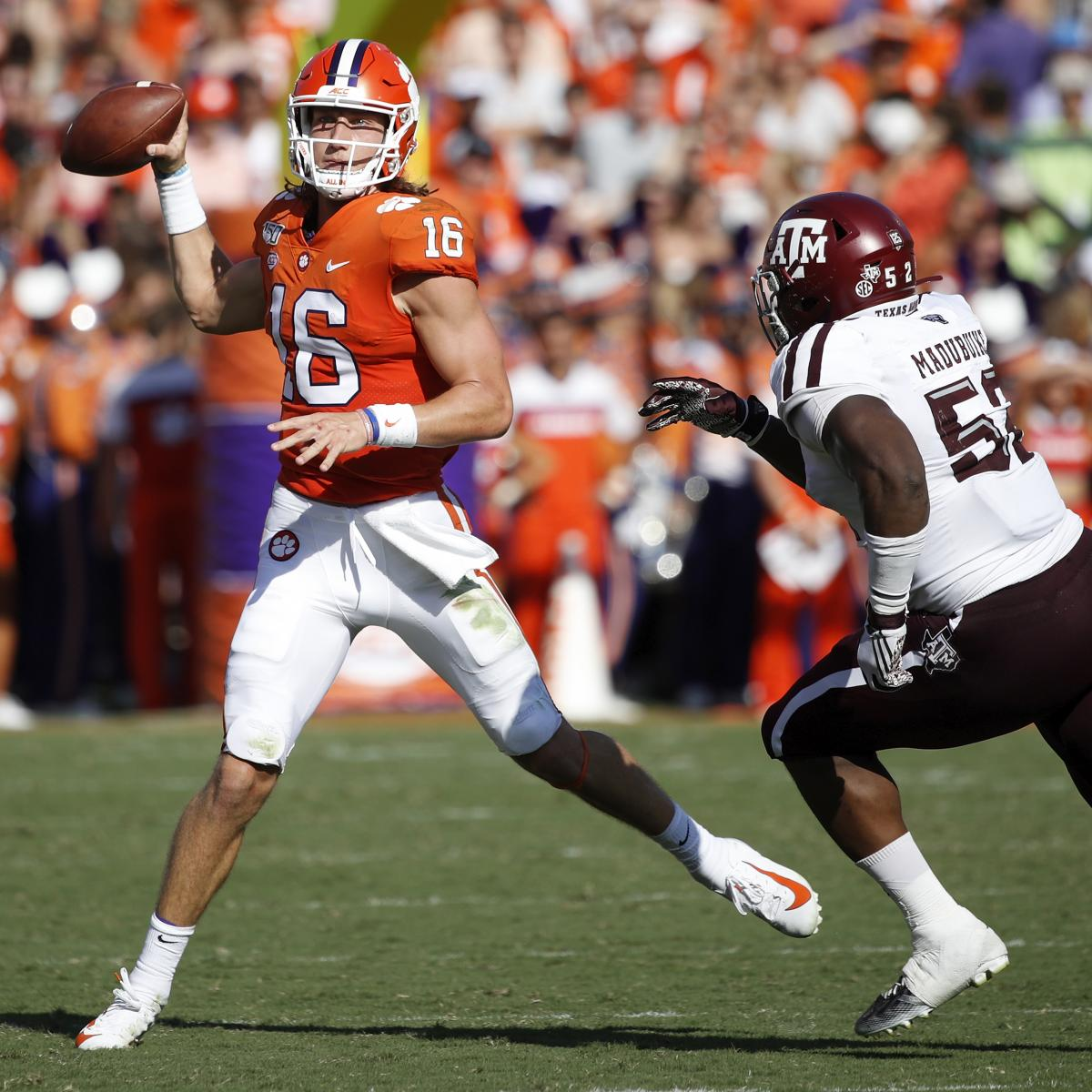 Trevor Lawrence's Mistake-Plagued Start Is an Issue, but ...