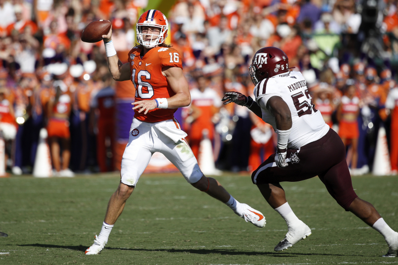 Trevor Lawrence's Mistake-Plagued Start Is an Issue, but He and Clemson Are Fine