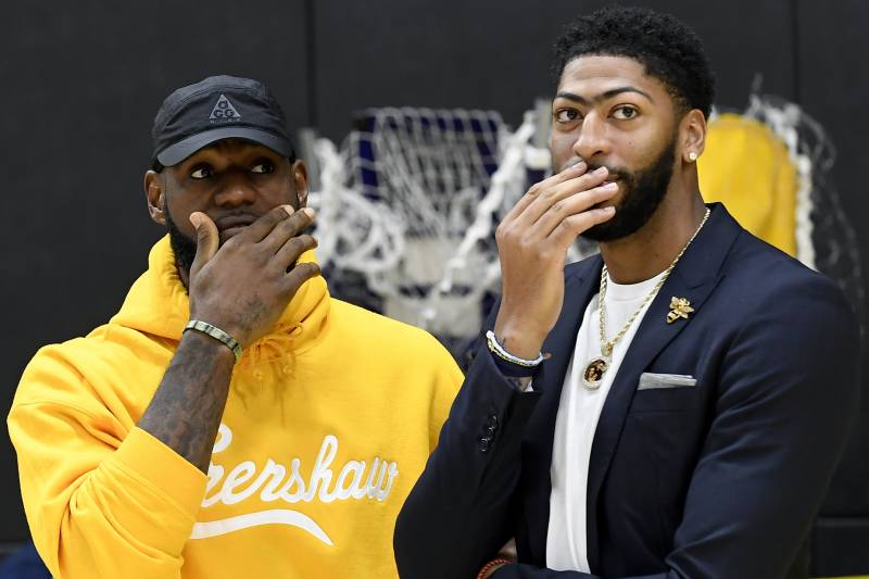 Image result for lebron and ad