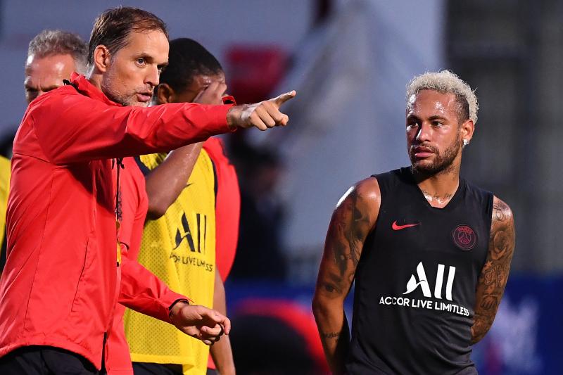 Thomas Tuchel Says Neymar 'Always Trained Professionally' Amid Barcelona Links