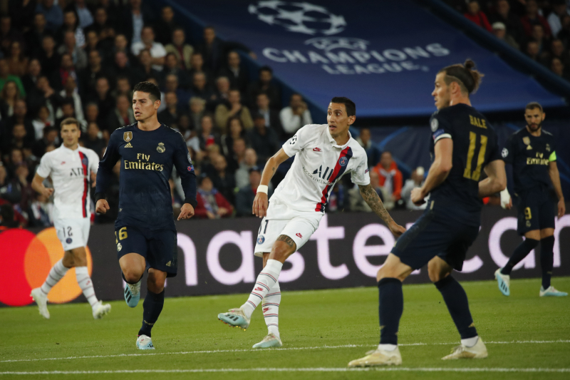 Angel Di Maria's Brace Leads PSG Past Real Madrid in UCL Group Stage