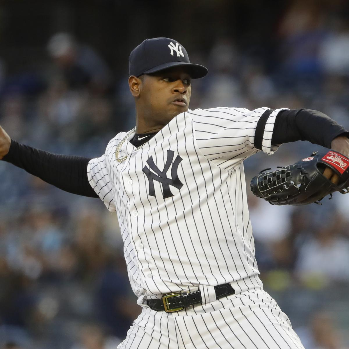 Yankees News: Luis Severino Shut Down After Forearm Injury Diagnosed as Soreness