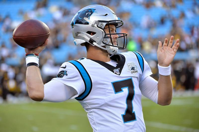 best sneakers 65941 e084d Report: Panthers' Kyle Allen 'Trending Toward' Starting for ...