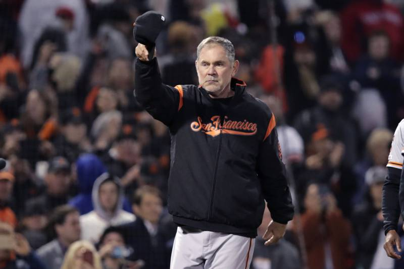 brand new 145a4 b87c4 Giants' Bruce Bochy Becomes 11th Manager to Get 2,000 Career ...
