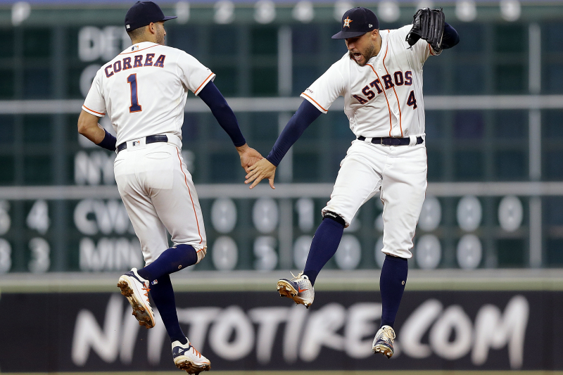 Astros Clinch Playoff Spot with Win vs. Rangers