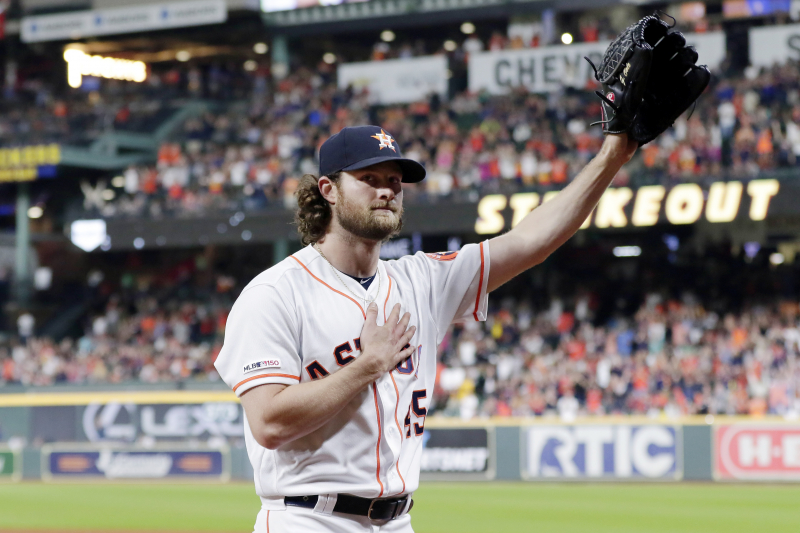 Astros' Gerrit Cole Becomes 18th Player in MLB History with 300-Strikeout Season