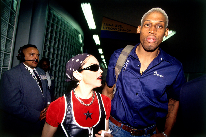 Dennis Rodman Says Madonna Offered Him $20M to Get Her Pregnant