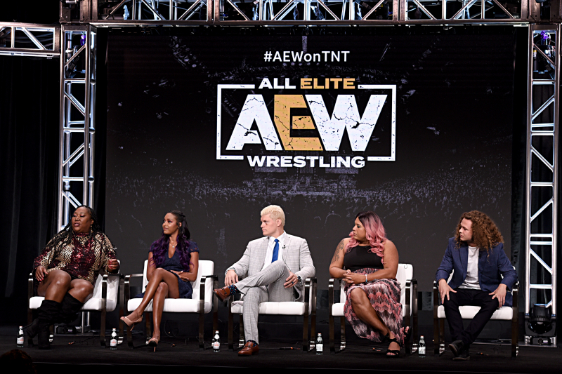 'AEW Dynamite' Revealed as Name of Weekly Show on TNT