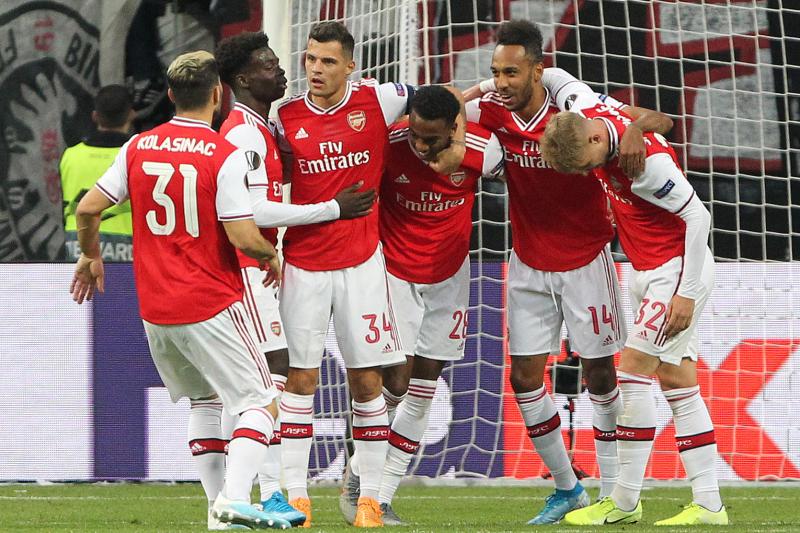 Bukayo Saka Brilliant as Arsenal Cruise Past Frankfurt in 2019 Europa League