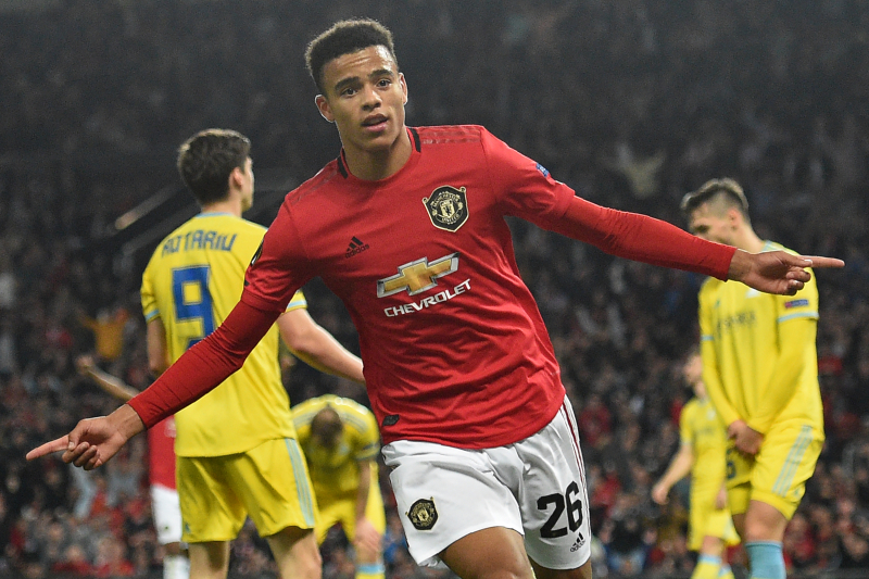 Mason Greenwood's 1st Senior Goal Leads Manchester United Past Astana