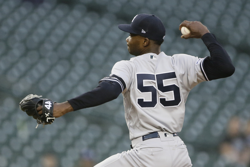Report: Yankees' Domingo German out for Season Amid Domestic Violence Probe