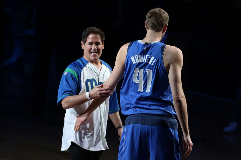 Mark Cuban Says It Would Be 'Awesome' If Dirk Nowitzki Owned Part of Mavericks