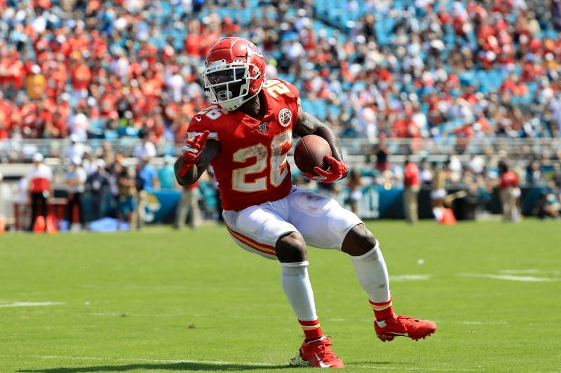 new product a47d8 c1a46 Chiefs' Damien Williams Won't Play Week 3 vs. Ravens Because ...