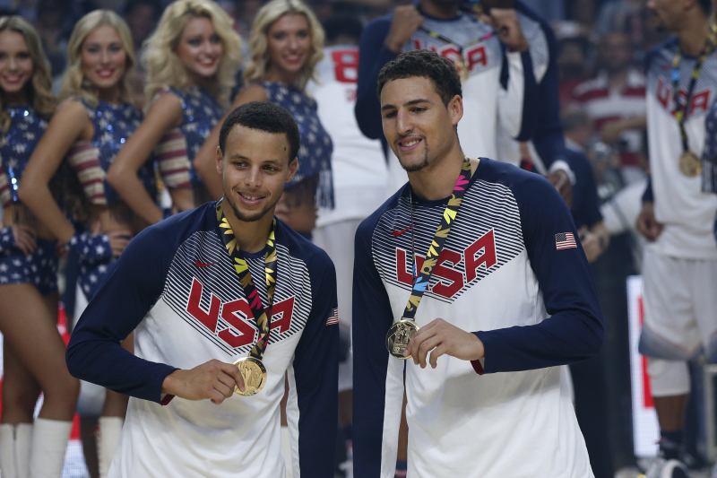Warriors' Klay Thompson Says He Plans to Play for Team USA in 2020 Olympics