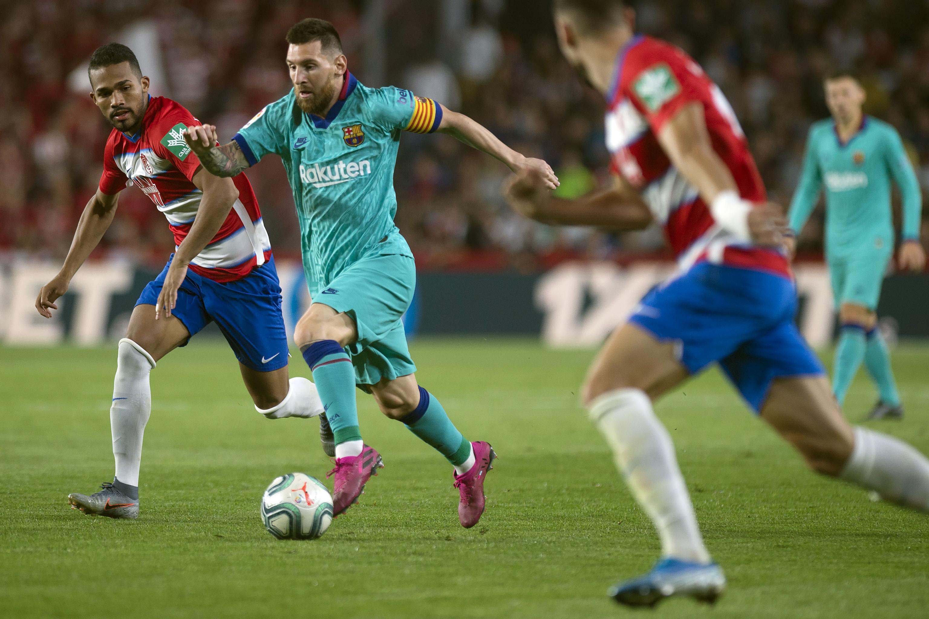 Lionel Messi Barcelona Stunned 2 0 By Granada In La Liga Bleacher Report Latest News Videos And Highlights