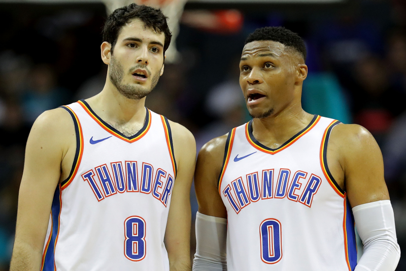 Alex Abrines Says Russell Westbrook Supported Him Through Mental Health Issues