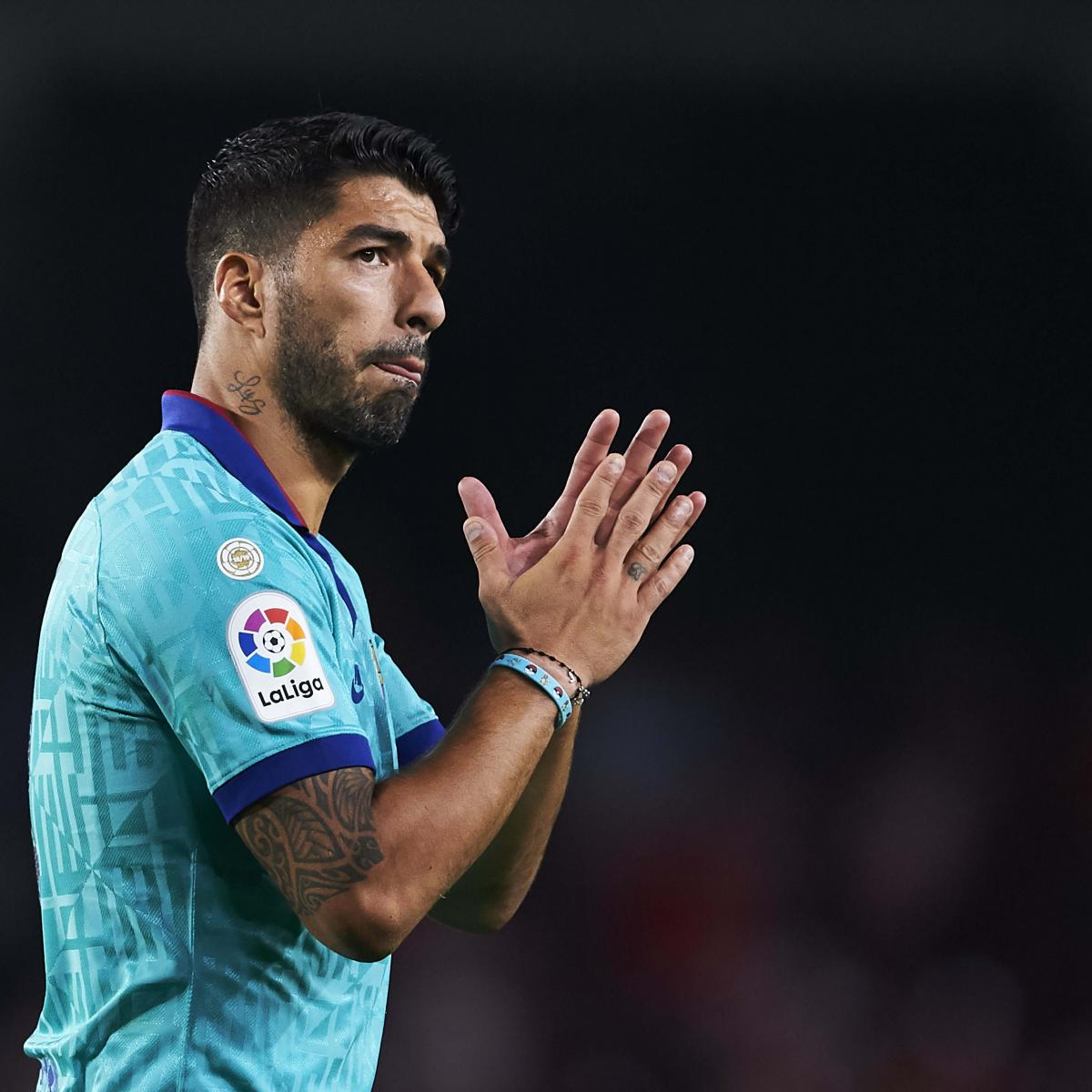 Luis Suarez Says Barcelona Form Is 'Worrying' After Shock Granada Loss