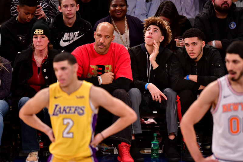 Lonzo Ball on LaVar's Reaction to Lakers Trade: 'We're Still Not Really Talking'