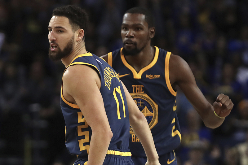 Klay Thompson: 'No Hard Feelings' About Kevin Durant Leaving Warriors for Nets