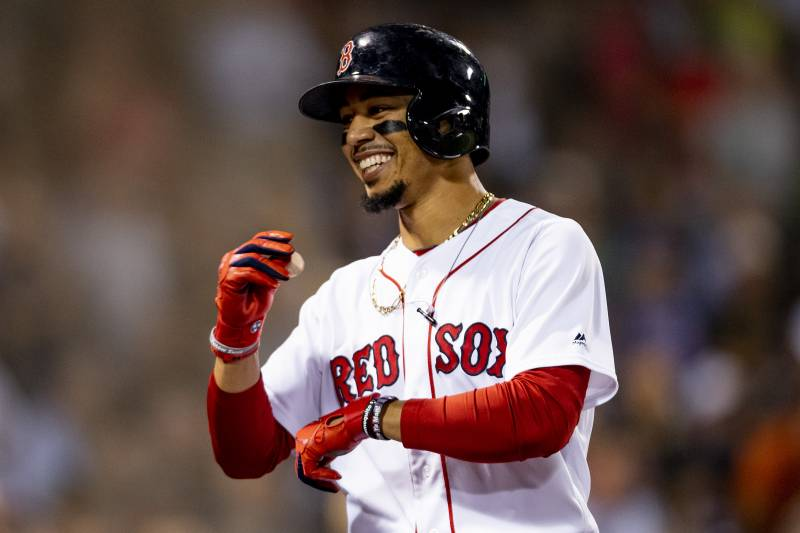 sneakers for cheap a3fbc b8fb6 Red Sox in Impossible Position with Superstar Mookie Betts ...