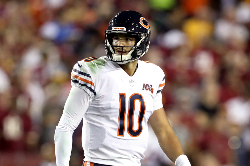 How Long Can the Bears Defense Carry Mitchell Trubisky?