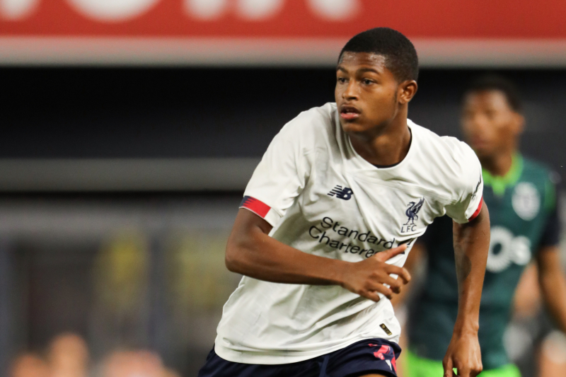 Rhian Brewster Says He's Willing to Wait for Liverpool Chance Under Jurgen Klopp