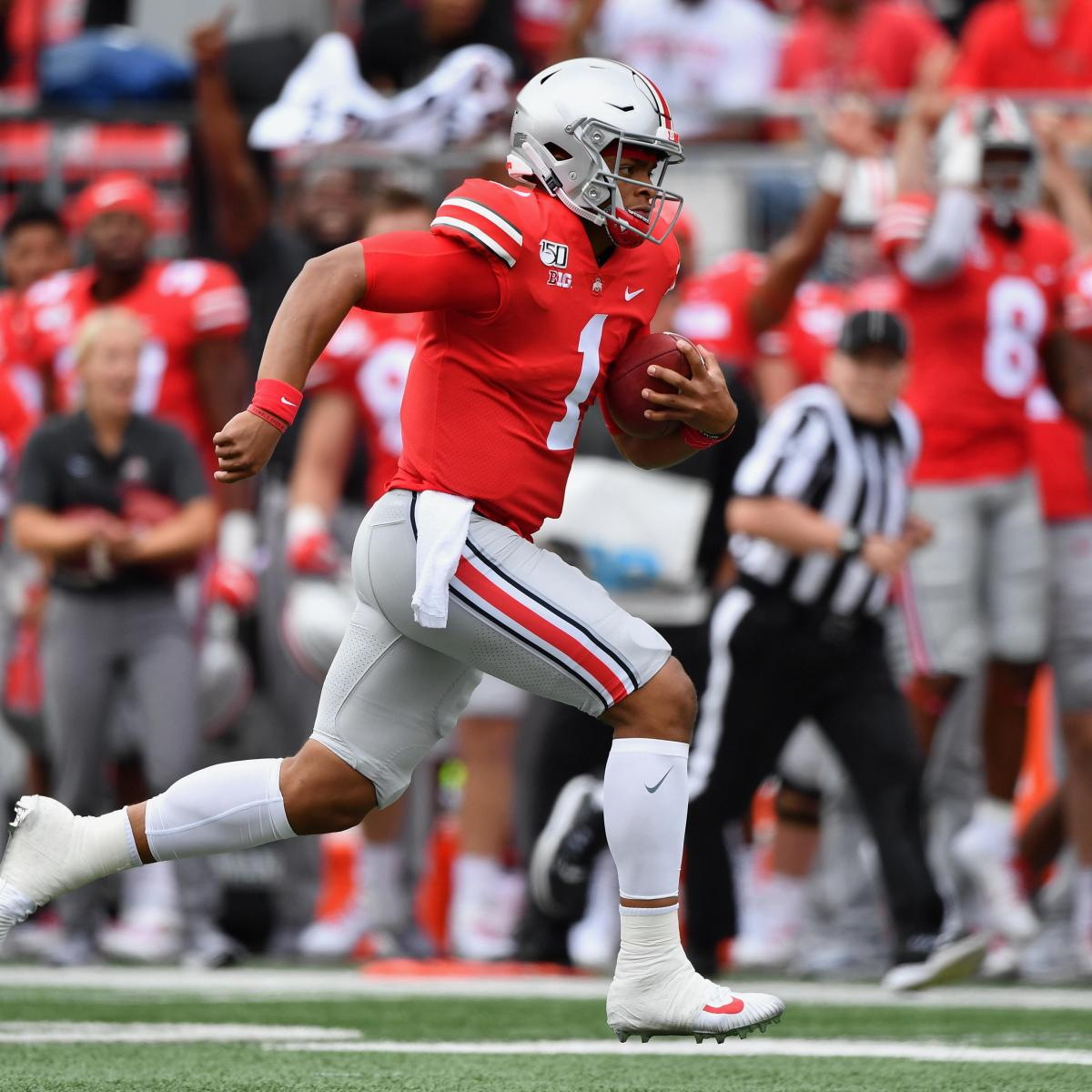 Ohio State Not Skipping a Beat Under Ryan Day, Justin Fields