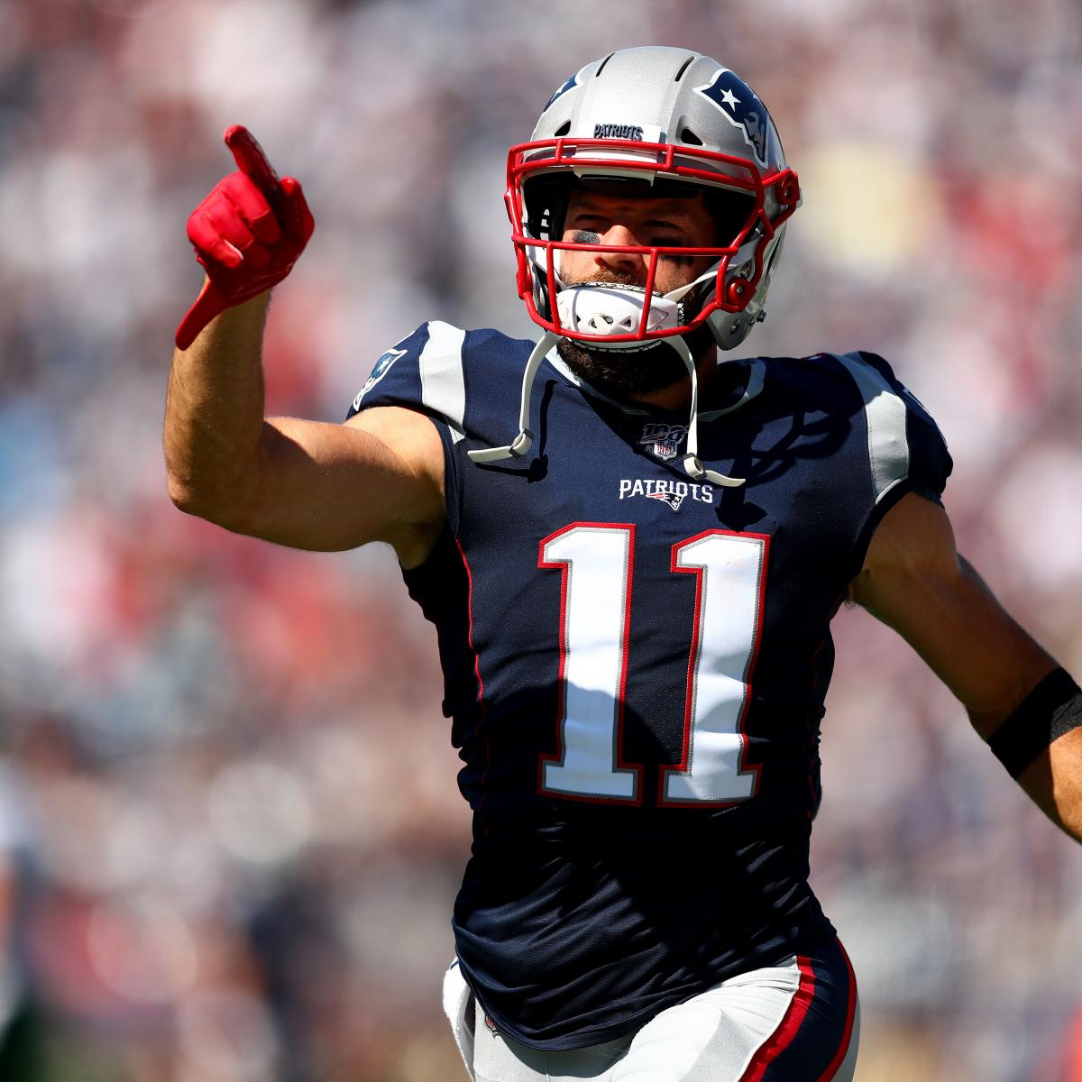 Patriots notes: WR Julian Edelman undergoes shoulder