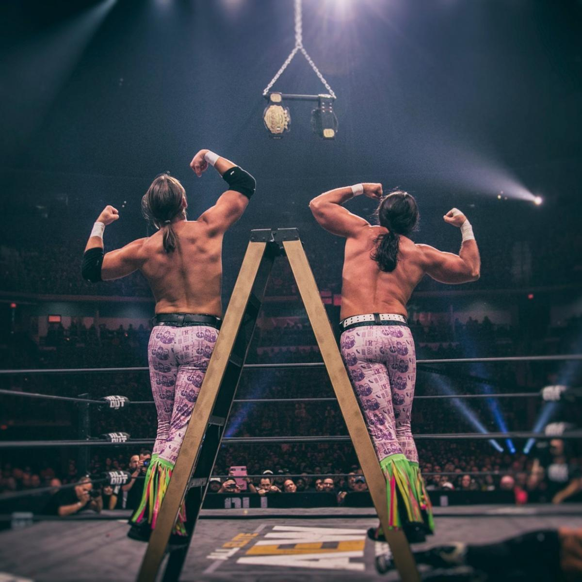 Off the Top Rope: The Young Bucks on Ladder Matches, Vince McMahon and AEW