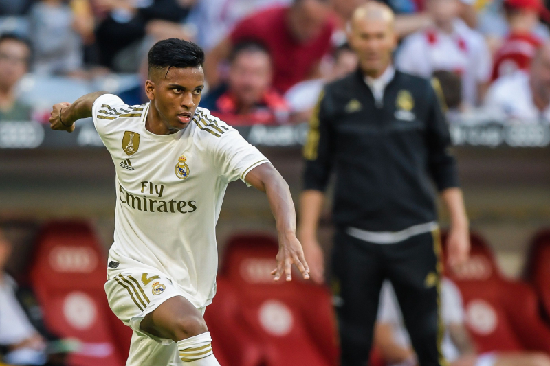 Zinedine Zidane Says Rodrygo Won't Play in Madrid Derby, Talks Eden Hazard Form