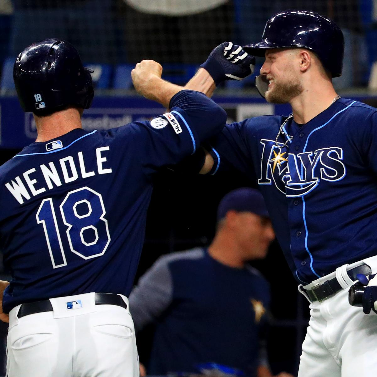 Rays Clinch 2019 MLB Playoff Spot, Will Play A's In AL