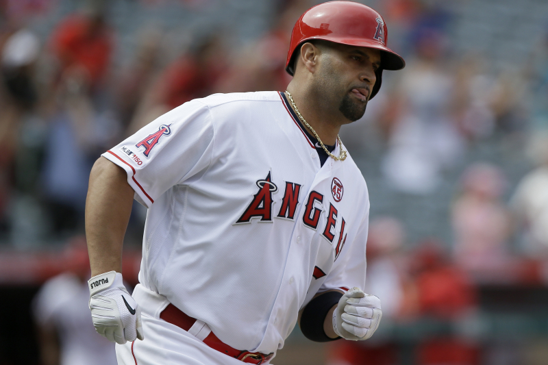 Angels' Albert Pujols Says 'I Can Play Until I'm 50. ... The Fire Is There.'
