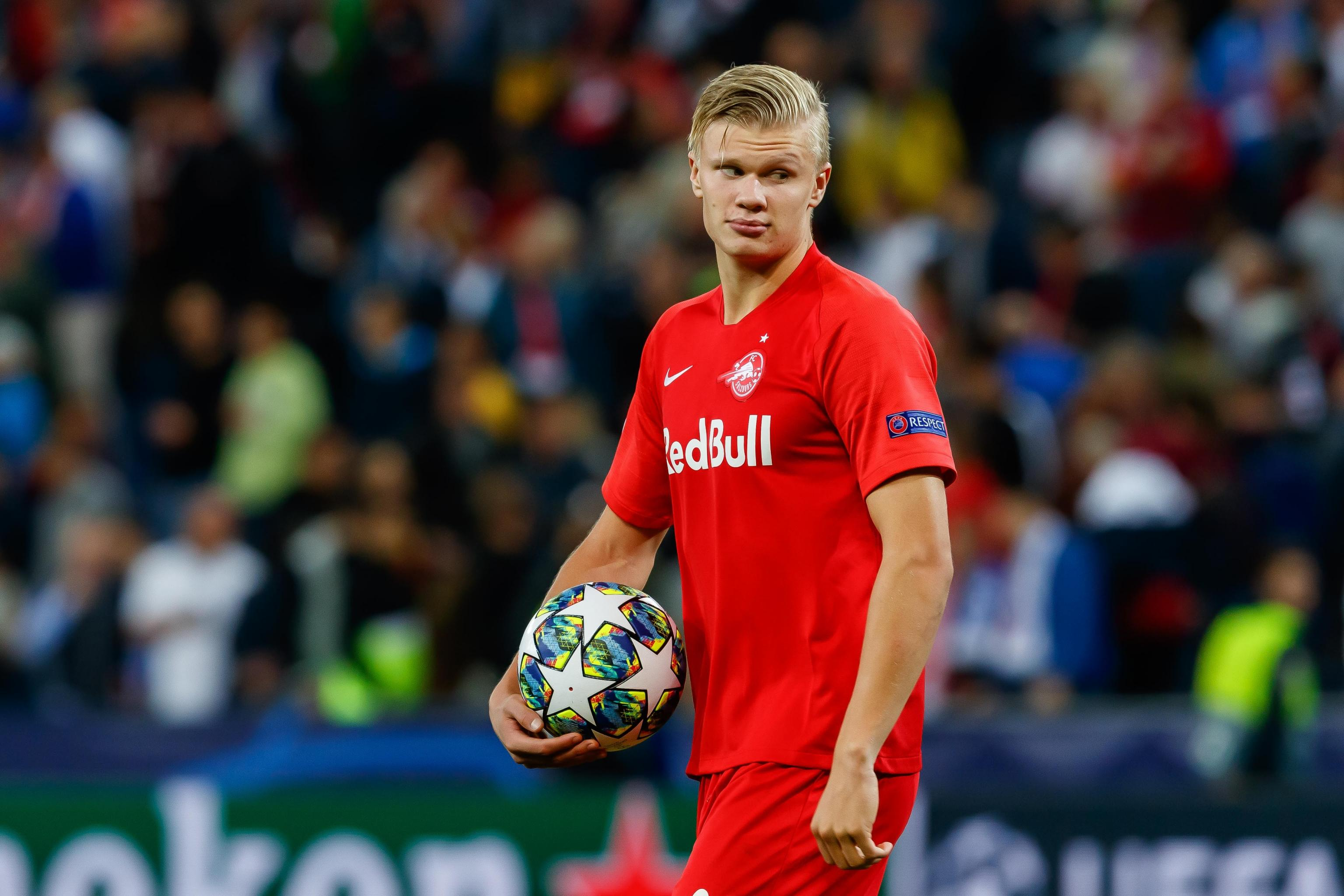 Salzburg Director: Erling Haaland a Doubt to Face Liverpool in UCL with  Illness | Bleacher Report | Latest News, Videos and Highlights