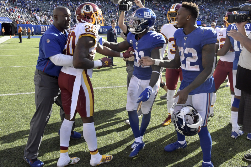 Redskins' Landon Collins Rips Giants' Jabrill Peppers After Postgame Scuffle