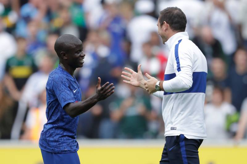 Chelsea's Frank Lampard Explains 'Careful' Approach to N'Golo ...