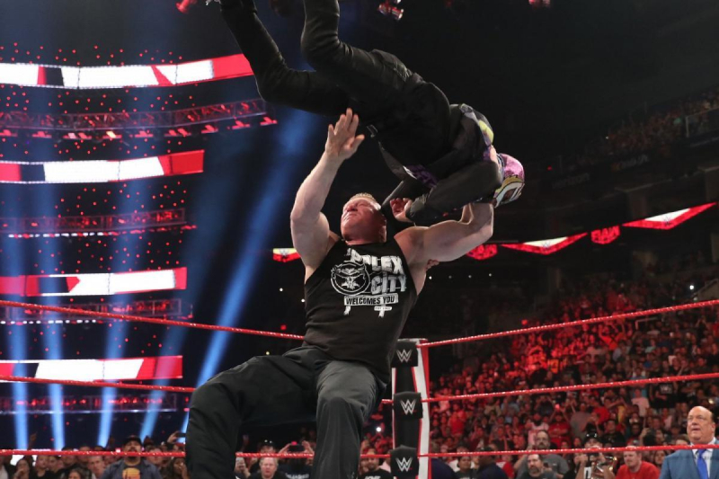 Lesnar-Mysterio Angle on WWE Raw, Baron Corbin Video, Jack Swagger to AEW Rumor