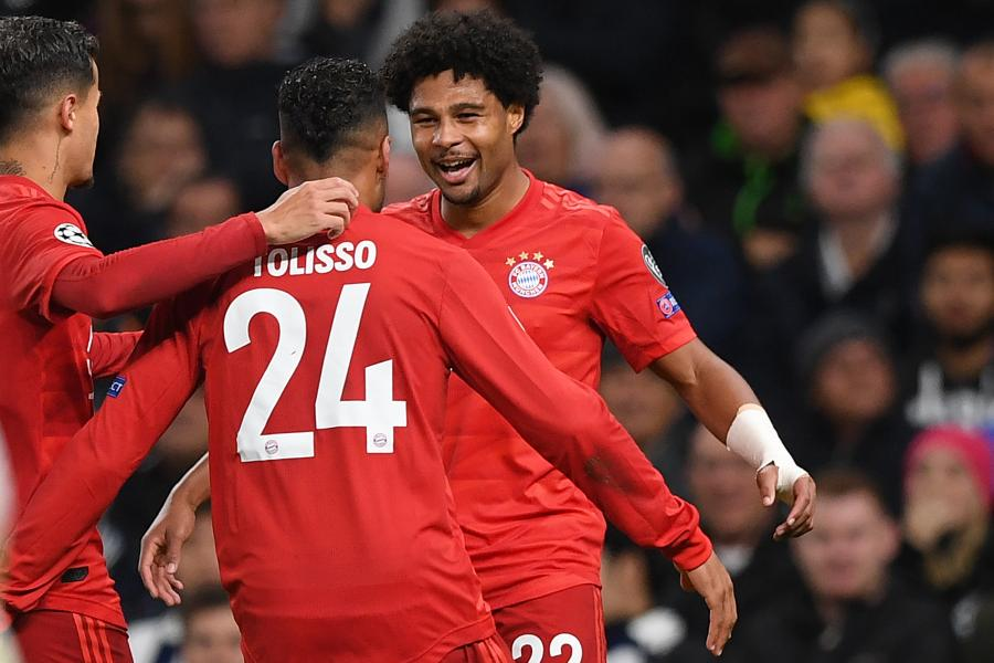Serge Gnabry S 4 Goals Lead Bayern Munich Over Tottenham In Ucl