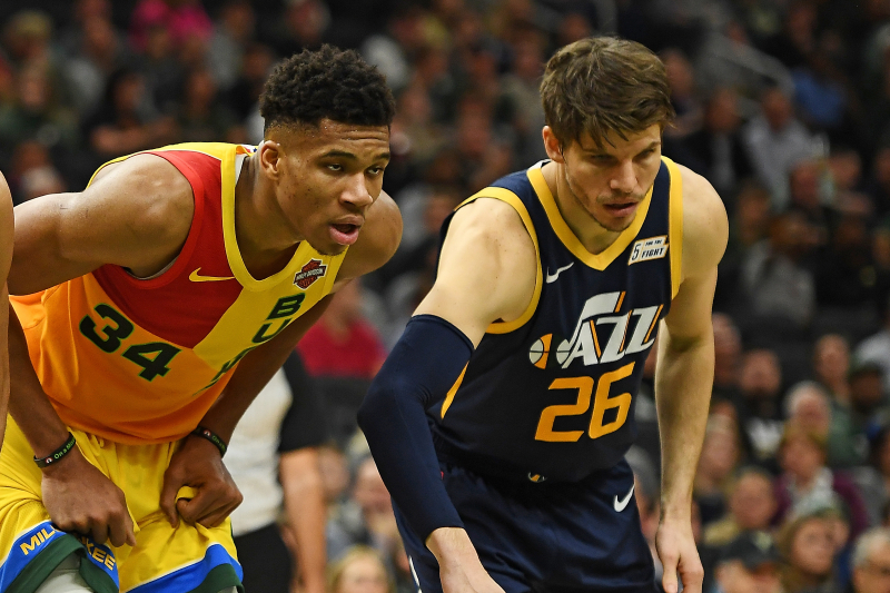 Giannis Details How New Bucks Teammate Kyle Korver Is Helping Him with Jump Shot