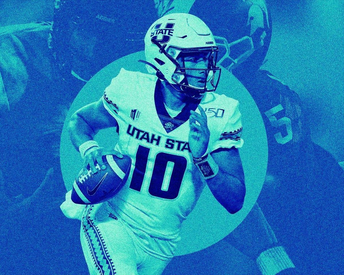 Long Overlooked, Utah State QB Jordan Love Can't Hide from Stardom Anymore - Bleacher Report