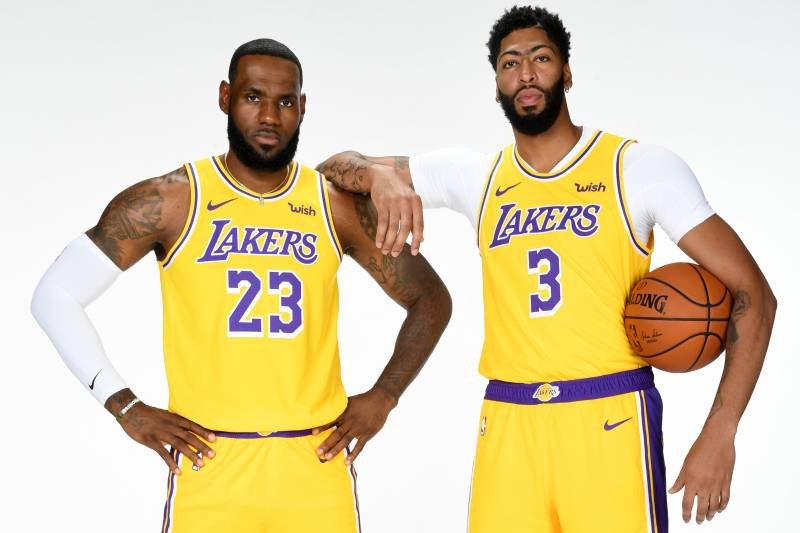 Lakers News Lebron James Anthony Davis To Play In