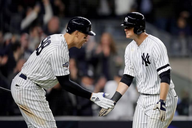 Dj Lemahieu S 4 Rbi Power Yankees To 10 4 Game 1 Win Over