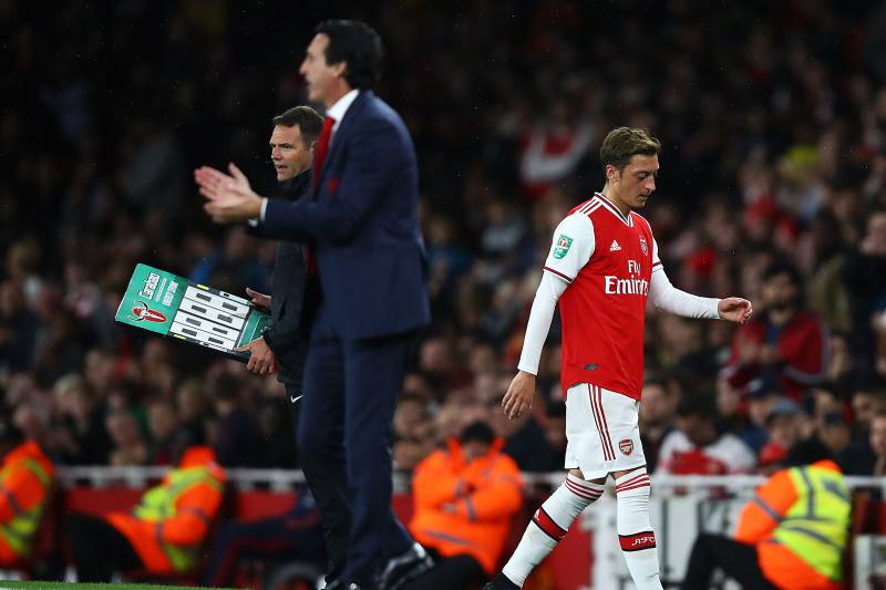 busca lo último último vendedor caliente mejor Unai Emery: Mesut Ozil Can 'Play How I Want,' but Arsenal ...