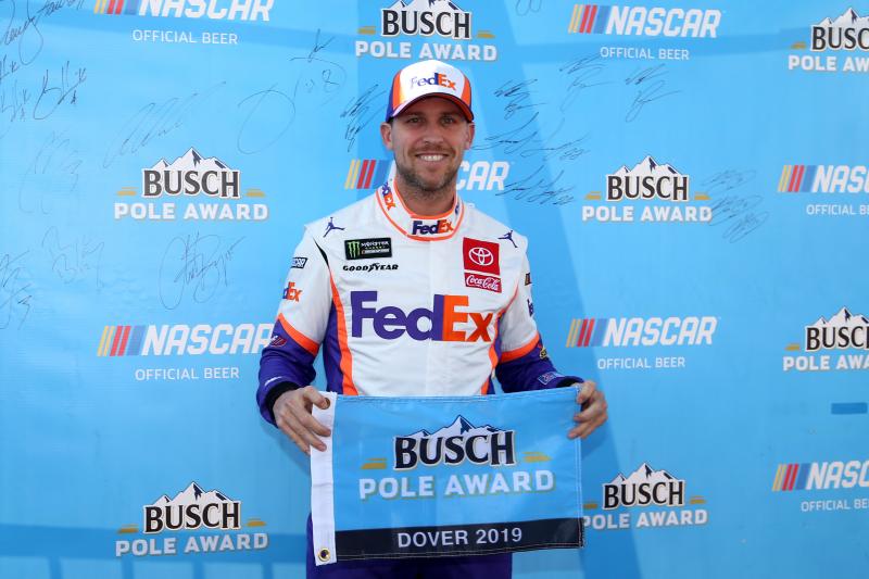 NASCAR at Dover 2019 Qualifying Results: Denny Hamlin Wins Pole