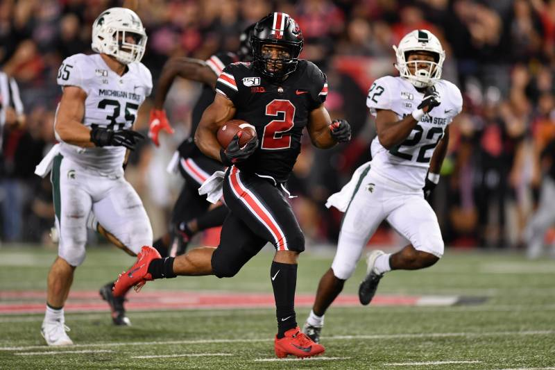 Justin Fields J K Dobbins Lead No 4 Ohio State In Rout