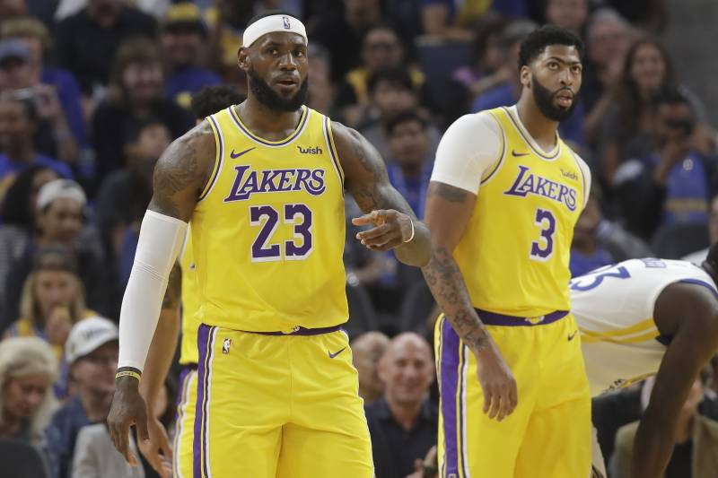 The Fun Story Of Lebron James Gifting Anthony Davis The No