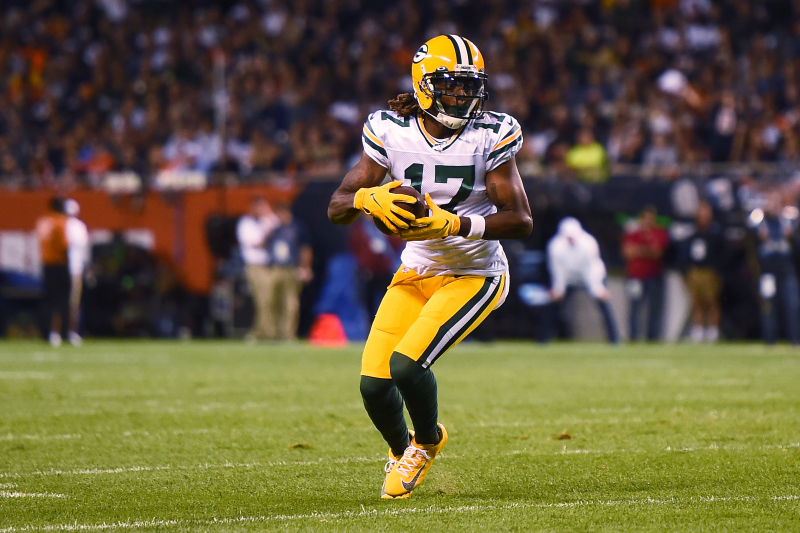 Davante Adams Ruled Out for Lions vs. Packers with Toe Injury