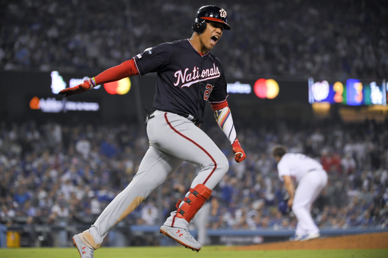 Howie Kendrick Grand Slam Propels Nationals Past Dodgers, into 1st-Ever NLCS