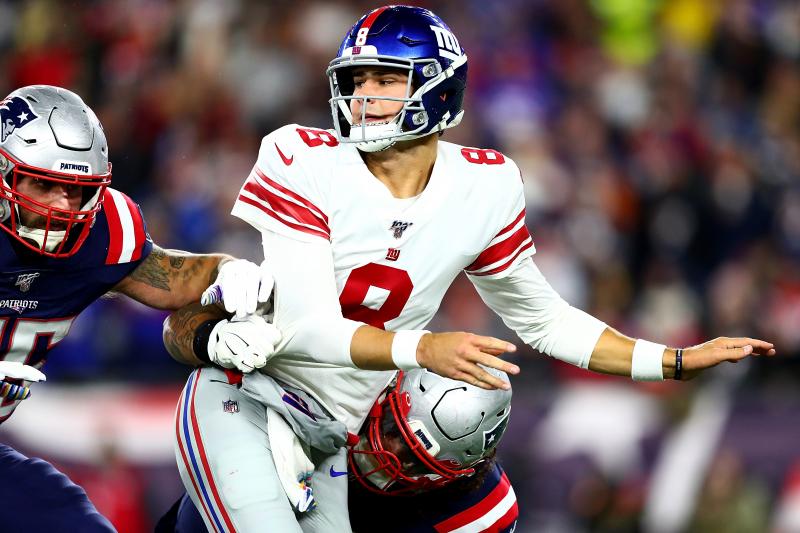 The Worst of Daniel Jones Is Good News for the New York Giants