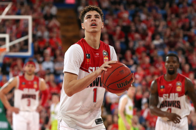 LaMelo Ball Shows Off Playmaking, but Illawarra Hawks Fall to Perth Wildcats